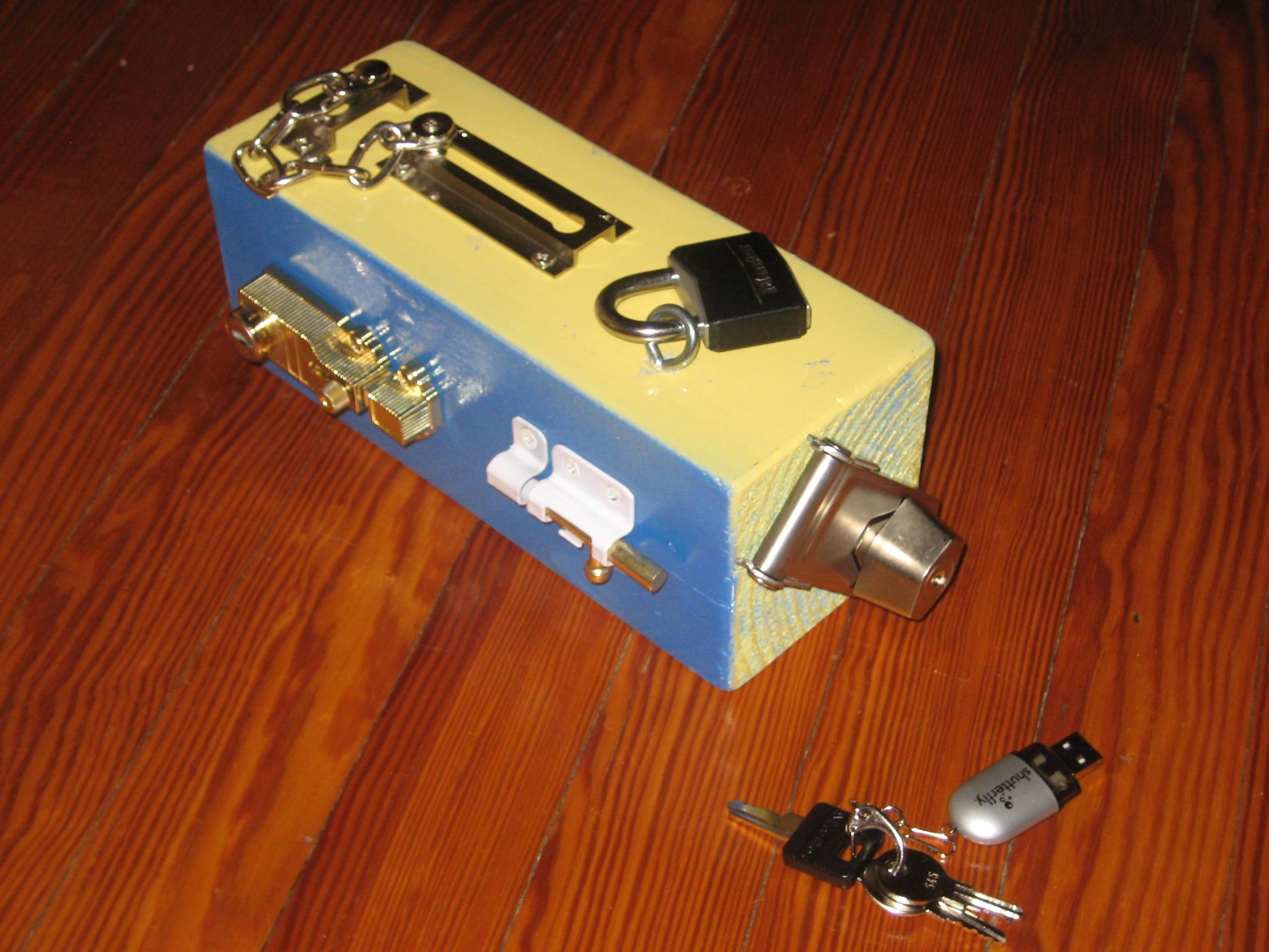 Lock And Key Toys 66